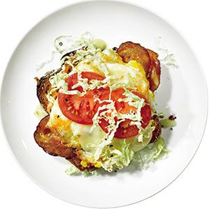 A Spicy Egg Brunch Recipe for the Weekend (and We Didn't Forget the Bacon!)