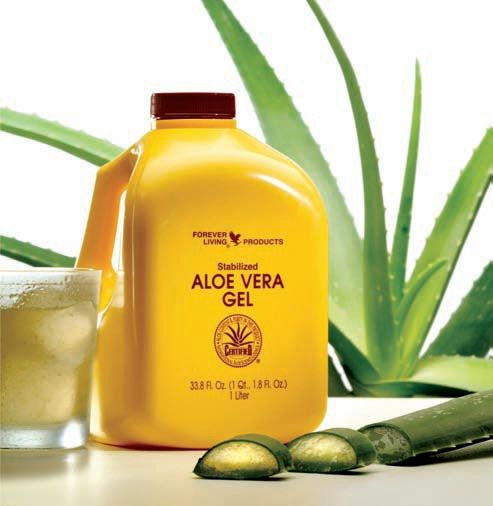 We love this Yellow bottle of Aloe Vera Drinking Gel, with over 250 products available this is Forever's best selling Signature product.