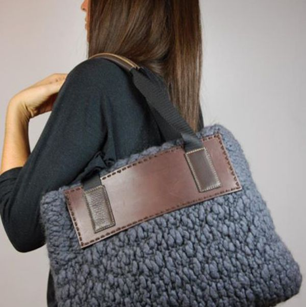 526 best knitted bags and totes images on Pinterest | Knitting ...