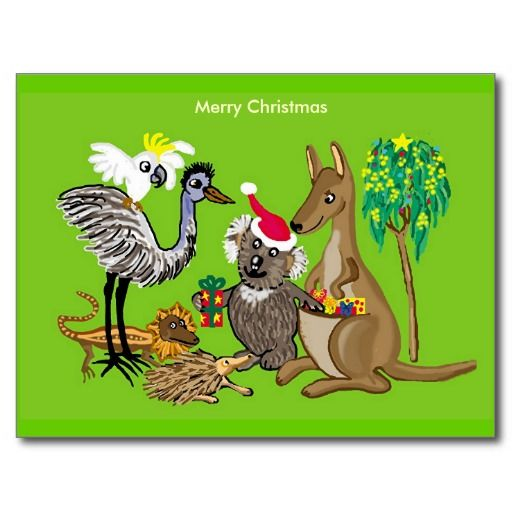 Best 100 christmas cards australia images on pinterest christmas aussie christmas postcard m4hsunfo