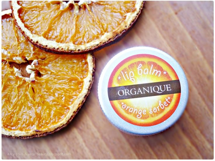 Organique Balm Lip Orange  PL Organique Balsam do ust pomarańczowy #organique #lipbalm #lips #balm #orange