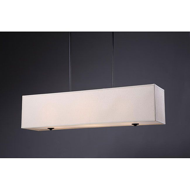 132 best lights fans images on pinterest blankets ceilings and new ventura 3 light rectangular chandelier overstock shopping great deals on chandeliers mozeypictures Choice Image