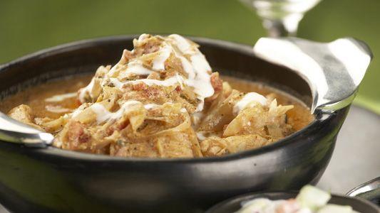 Pollo en Mantequilla al Estilo Bengalí   Recetas Alpina Colombia