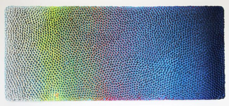 CULTURE. Zhuang Hong Yi creates devoutly manipulated paper flower fields in his Show at Unit London.