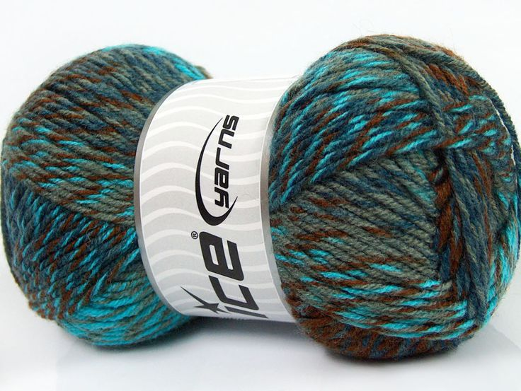Mango Wool Turquoise Navy Grey Brown fnt2-40898