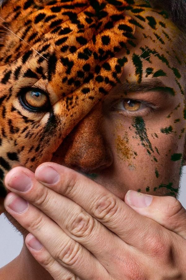 Caras contra la captura animal | Mitad hombre, mitad animal: 15 retratos espectaculares contra el cautiverio salvaje - Yahoo Noticias España