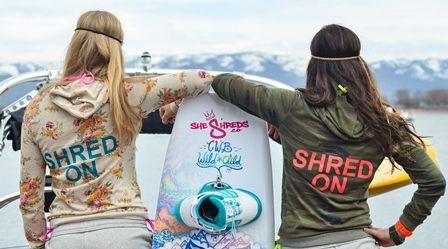 wakeboard life, girls who shred, wakeboard chics, wakeboard girls. #shredonsisters