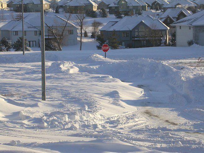... zapotocny <b>omaha</b> valley nws 13 inches <b>of snow</b> near gretna <b>nebraska</b>