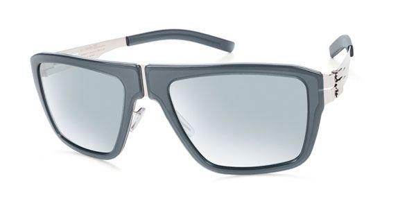 Ic! Berlin D0005 M13 Bjornsonstrabe Chrome-Rocket-Fuel - Teal Mirror Sunglasses
