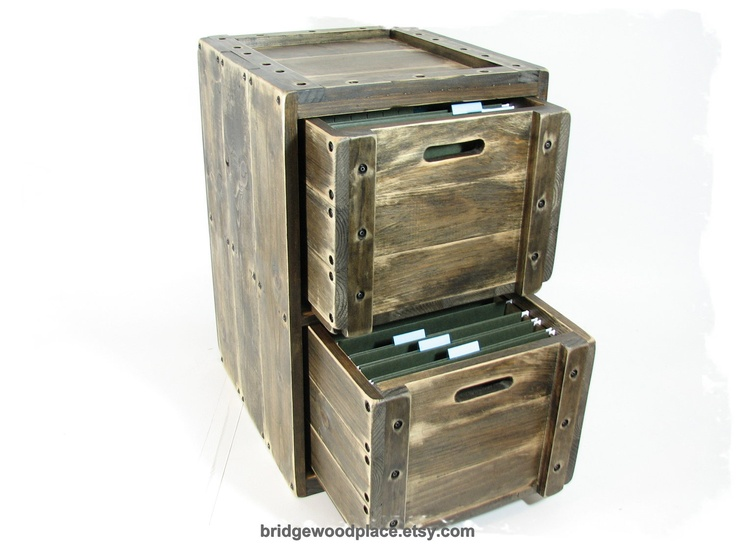 Wood File Cabinet Wooden File Drawers 2 Drawer Solid Wood File Cabinet 3  Crate Set.