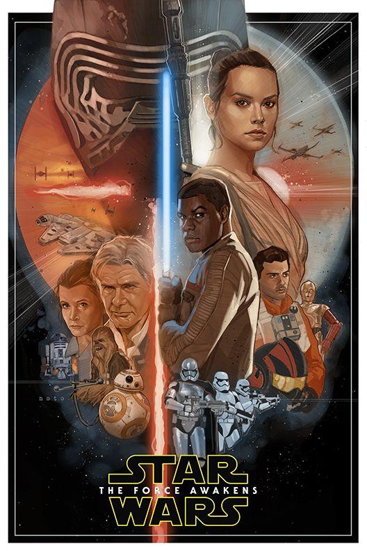 Star Wars VII - Artista da Marvel cria belíssimo pôster não-oficial do filme!