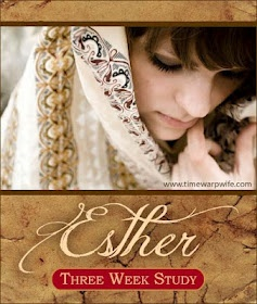 Time-Warp Wife - Empowering Wives to Joyfully Serve: Esther - A Three-Week Study  E-book of the study available for Facebook likers. Click Bible Study heading to fine more posts.