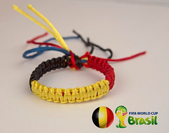 BELGIUM flag WORLD CUP Brazil 2014 Black Yellow Red by SmeRuci, $6.50