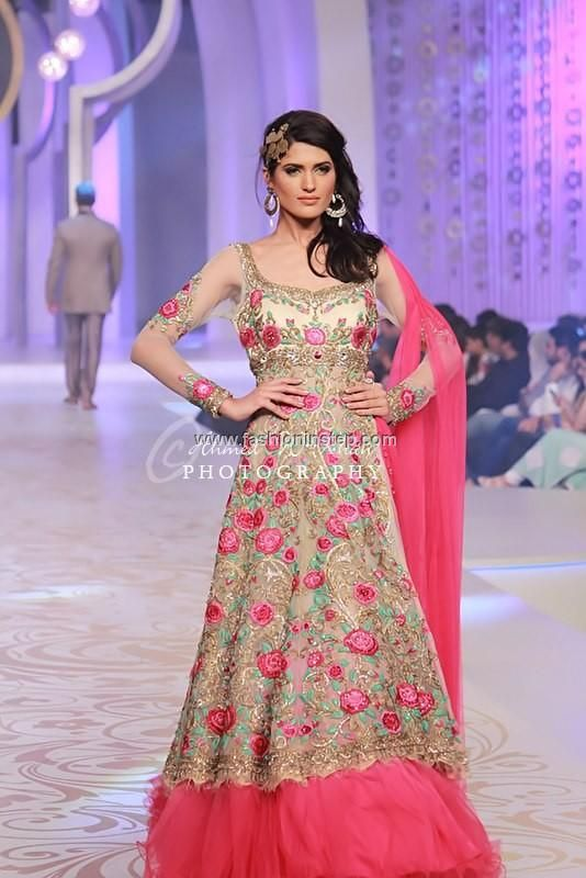 Anjalee and Arjun Kapoor Bridal Dresses at BCW 2013