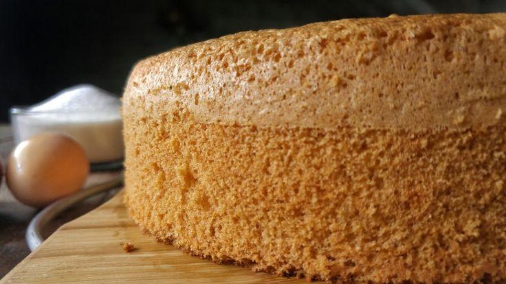Το πιο Εύκολο και ΑΦΡΑΤΟ Παντεσπάνι - The best Sponge Cake Ever