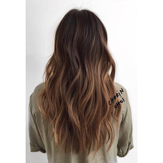 Brunette Haircolor #hair #haircolor #color #brunette #brunettehair by #Mizzchoi @ramireztransalon #ramireztran #ramireztransalon