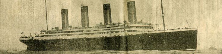On April 10, 1912, the RMS Titanic left Southampton, England on her maiden voyage. After stops at Cherbourg, France and Queenstown (now Cobh), Ireland, she steamed for New York, USA carrying over 2,200 passengers and crew.