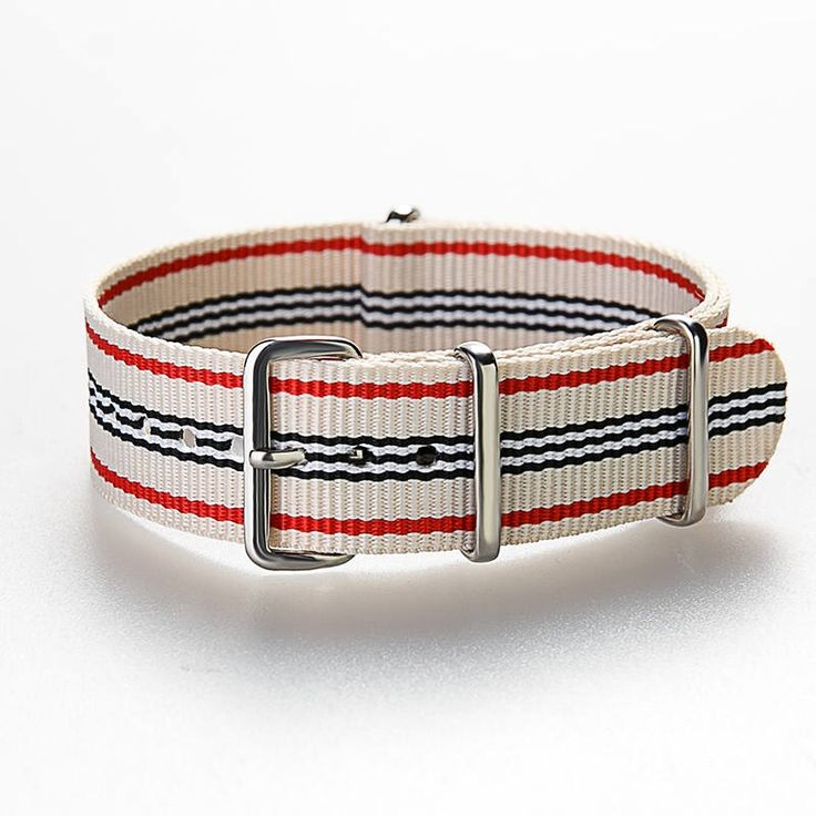 "NATO Strap ""Sailor"" Classic Bond Nylon Watch Strap 18 mm - 20 mm, Nato strap, Nato Band,  Nylon strap by ClueAuthenticBrand on Etsy https://www.etsy.com/listing/540017534/nato-strap-sailor-classic-bond-nylon"