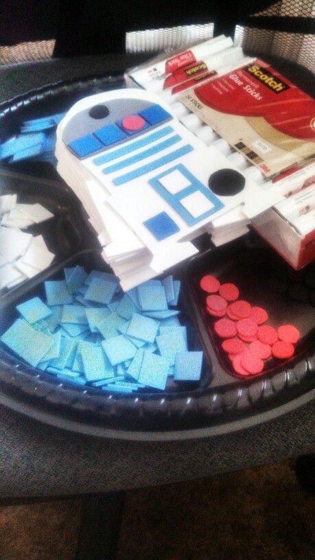 Star wars R2D2 Activity for Kids
