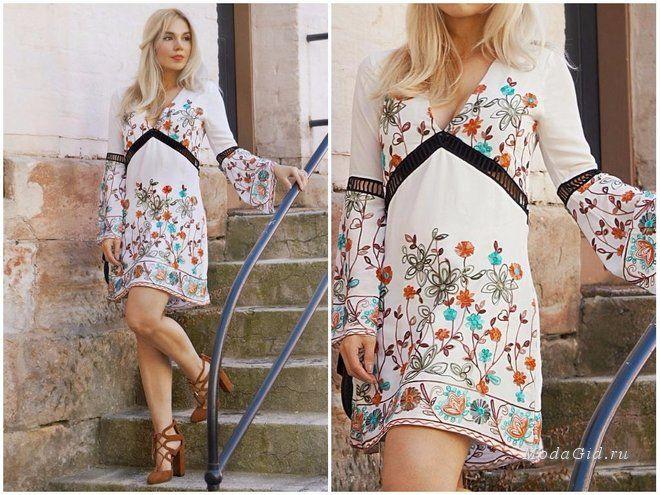 Мода и стиль: Модные тенденции: цветочная вышивка, и как её носить