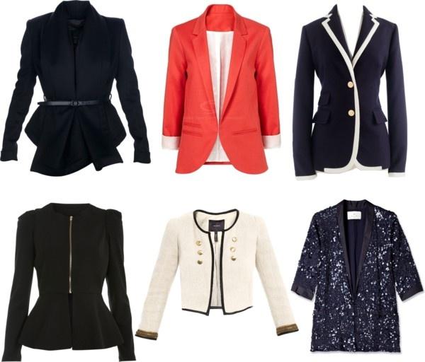 U0026quot;Blazers U0026 Jackets 2012u0026quot; By Tanikajoshibedi Liked On Polyvore | My Dress Code | Pinterest ...
