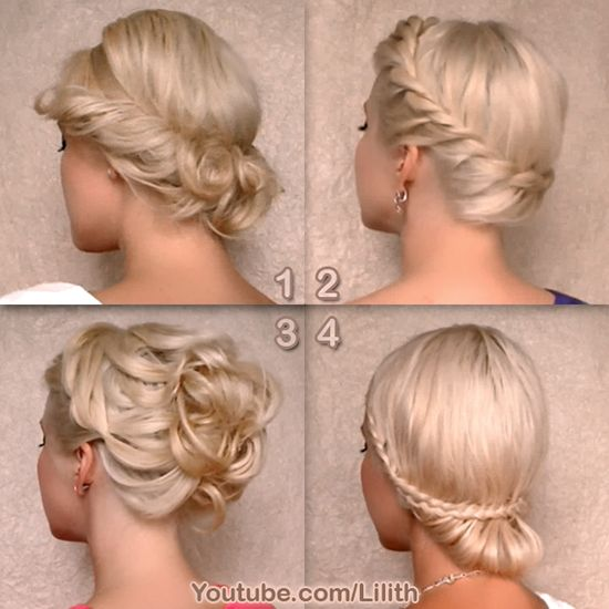 Greek goddess updo hairstyles. For hair tutorials, visit http://www.lilithmoon.com/2013/12/greek-goddess-hairstyles.html