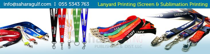 We are one of the leading supplier & manufacturer of lanyard printing in Dubai offers the best quality services at good price.