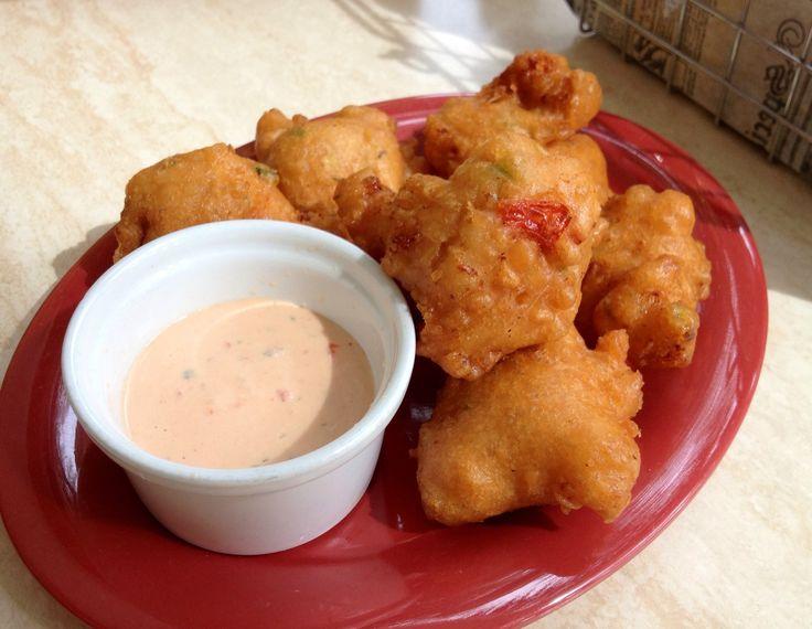 Conch Fritters @ Conch N' Kalik bar & grill, Nassau, Bahamas