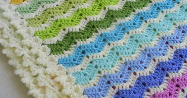 crochet | idéias crochet | Pinterest | Little Flowers, Blankets and Rainbows