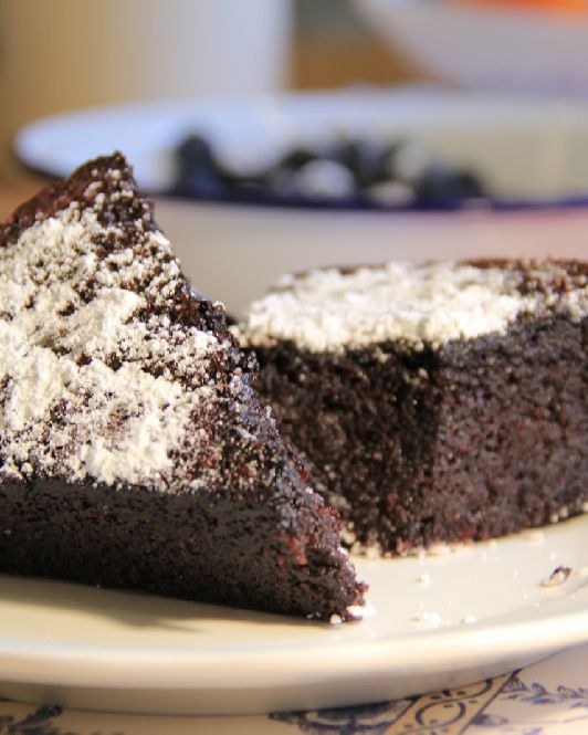 Low FODMAP and Gluten Free, Chocolate olive oil cake http://www.ibssano.com/low_fodmap_recipe_chocolate.html