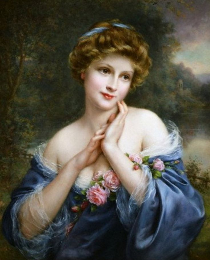 A SUMMER ROSE, BY FRANCOIS MARTIN KAVEL Gorgeous!