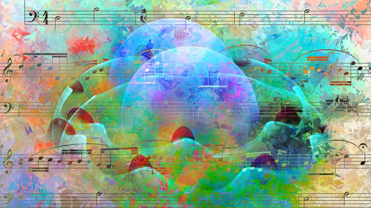 Fractal on the music 12