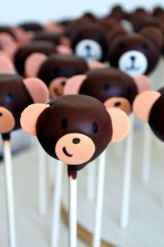 Monkey Cake Pops by Simply Sweet Creations (www.simplysweetonline.com)