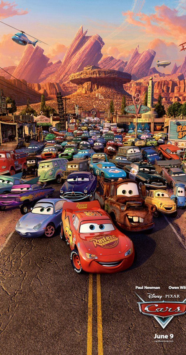 Directed by John Lasseter, Joe Ranft.  With Owen Wilson, Bonnie Hunt, Paul Newman, Larry the Cable Guy. A hot-shot race-car named Lightning McQueen gets waylaid in Radiator Springs, where he finds the true meaning of friendship and family.