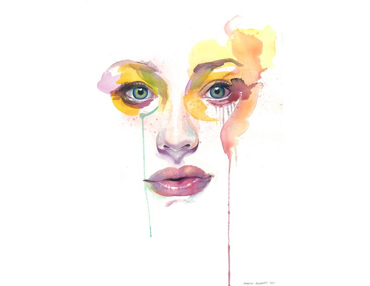 WATERCOLOR : Marion Bolognesi