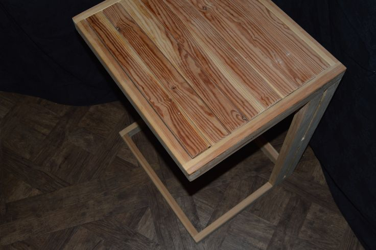Smalle Desk or Side Table. Solid Pine. Handmade. Bees Wax Polish.