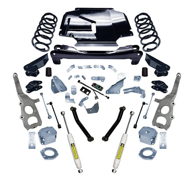 """4"""" Jeep Grand Cherokee and Commander 2005-2007 Suspension Lift Kit - 4WD - K864 