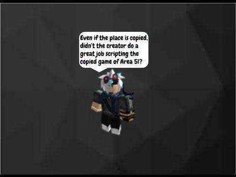 Copy of Roblox Area 51 but it's actually good