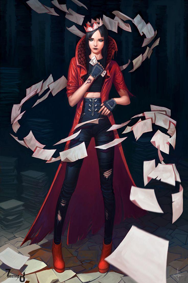 Versus Camtry - The Paper Witch by AdrianDadich.deviantart.com on @deviantART