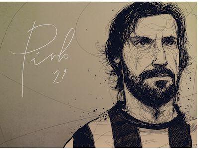 Andrewa Pirlo by david flanagan #soccer