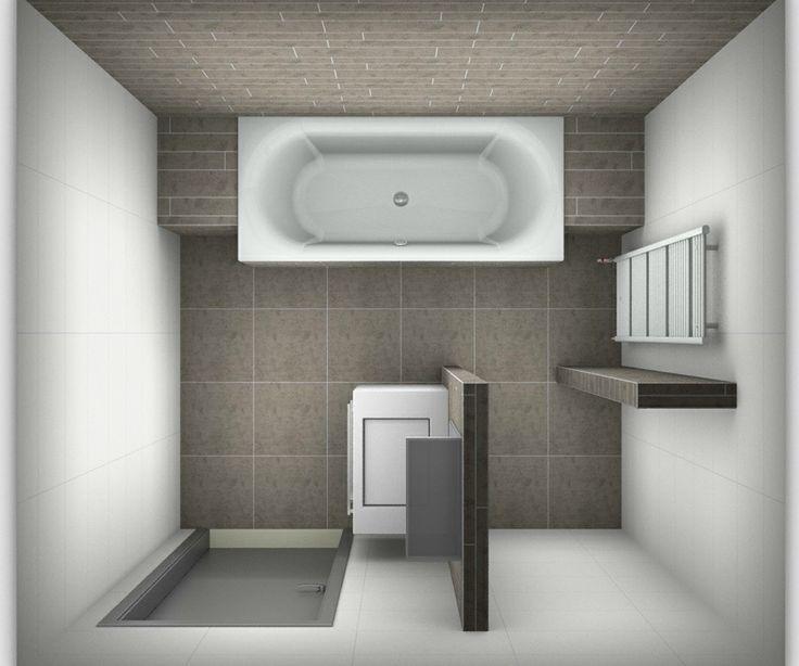 66 best 3d badkamer ontwerpen images on pinterest for Badkamer plannen in 3d