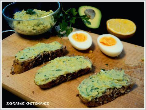 Zgrabne gotowanie : Pasta z awokado i jajka do kanapek