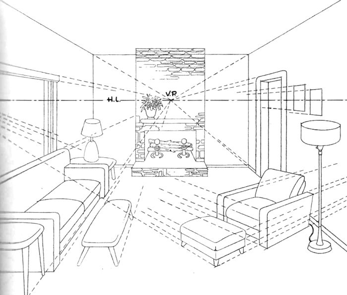 Best 25 perspective drawing ideas on pinterest draw in for 3d bedroom drawing