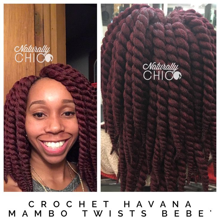 Crochet braids with Janet collection Havana mambo twists Bebe