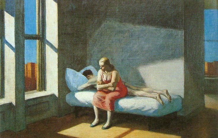 <도시의 여름>, 에드워드 호퍼(Edward Hopper), 1949, 캔버스에 유채.