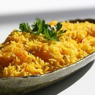 Рис с шафраном рецепт