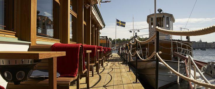 Ångbåtsbryggan - possible private seaside venue. opens this summer