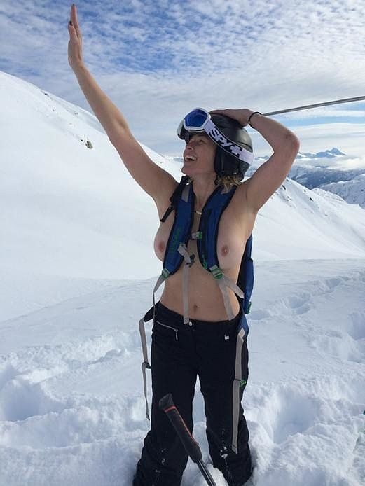 All the Times We've Seen Chelsea Handler's Boobs —So Far: Chelsea Handler is basically living in a topless version of Green Eggs and Ham  — much like Sam I Am, she'll go topless on a house, with a mouse, in a box, or near a fox (or, most recently, a camel).