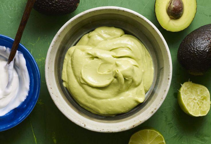 avocado crema recipe (Pati's Mexican Table)