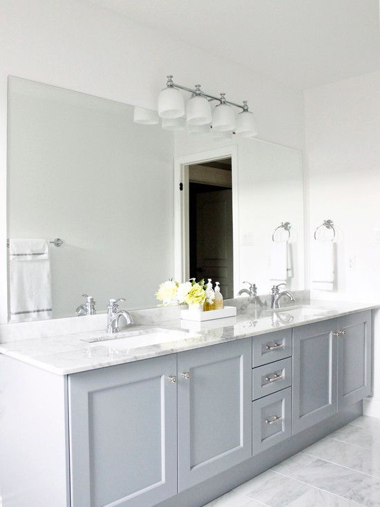 Bathroom Grey Vanity Design Pictures Remodel Decor And